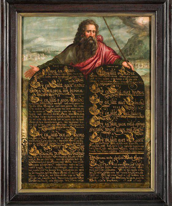 Gespreksgroep De Tien Geboden met Pieter Lootsma