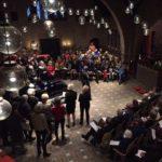 Kerstuitvoering zanggroep