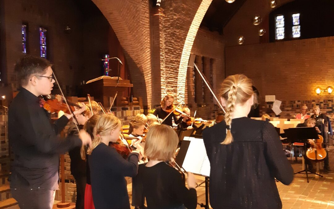 Ontmoeten op zondag – met Jeugd Strijkorkest Bilthoven