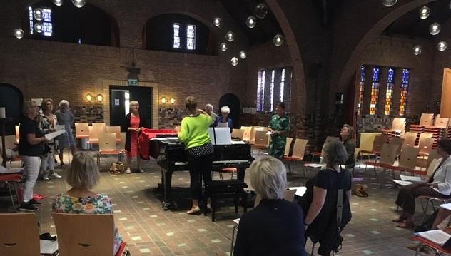 Zanggroep Samen zingen met José Scholte (ochtend) 27 oktober